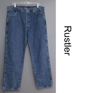 NEW Rustler Heavyweight Denim Jeans Size 38